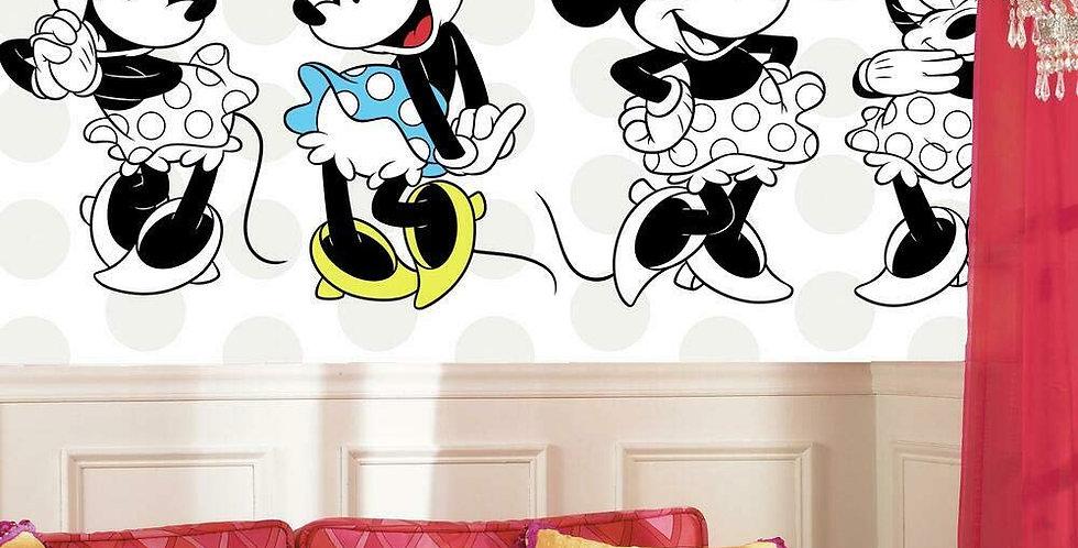 Minnie Mouse - Kids Mural Wallpaper