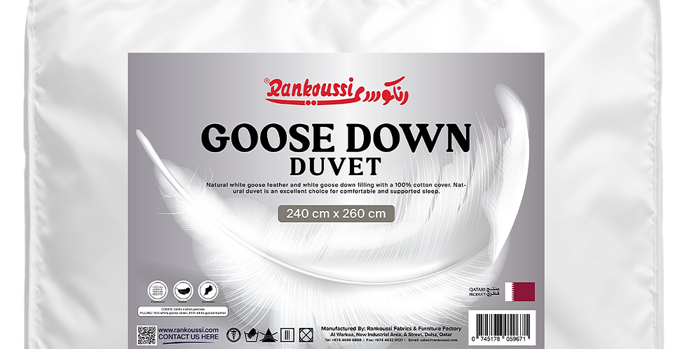 Rankoussi Down Duvet Softy 260 50% WGD
