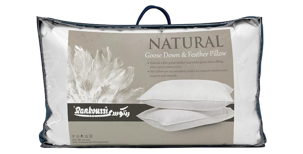 Rankoussi Down Pillow Supreme Jacquard 90% WGD