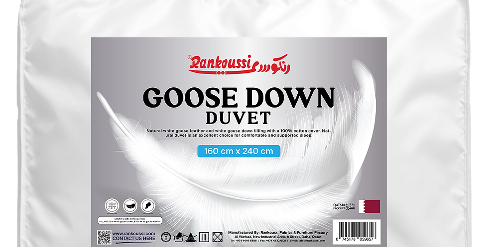 Rankoussi Down Duvet Softy 160 50% WGD