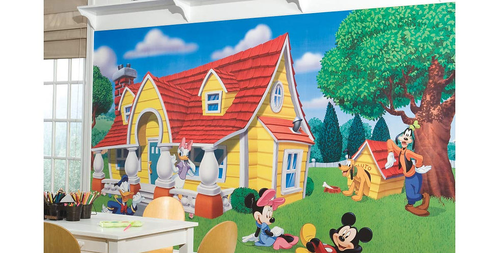 Mickey Mouse and Friends - Kids Mural Wallpaper