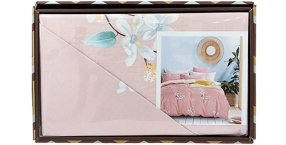 Rankoussi Pastel Pink Flower - Single Bed Set