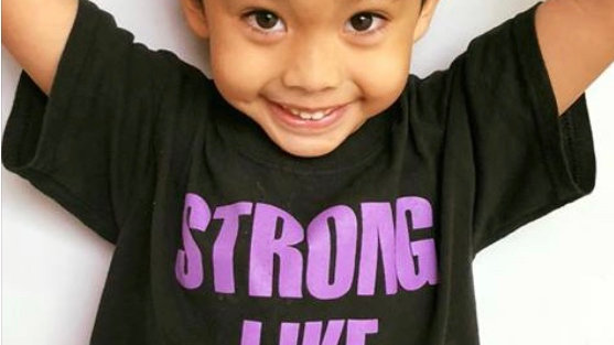 Strong Like Mom Child T-Shirt