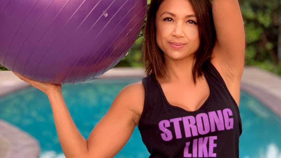 Strong Like Mom Women's Adult Tank Top