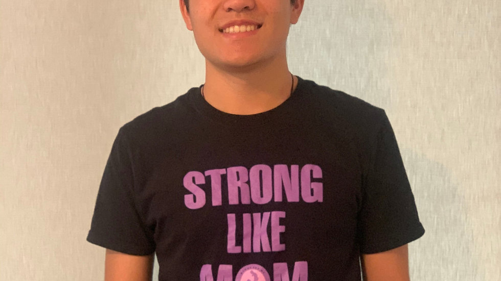 Strong Like Mom Adult T-Shirt
