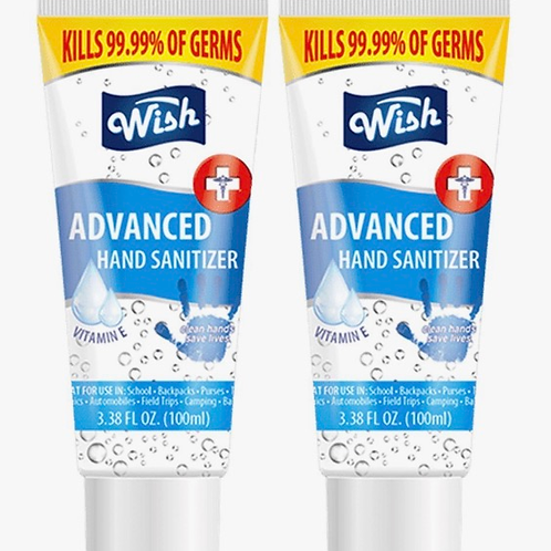 2 Pack Hand Sanitizer 3 oz