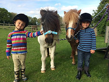 Tiny Tots riding lessons