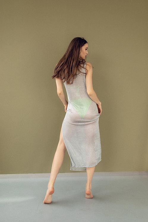 Пляжное платье-кольчуга Paola