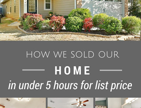 How we sold our home in under 5 hours: for list price