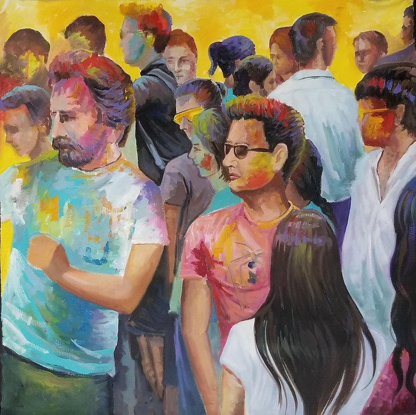 Holi festival by Houman Pazouki