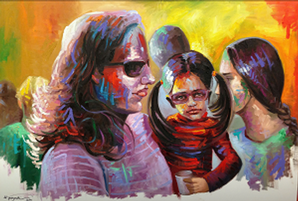 Holi festival's series by Houman Pazouki