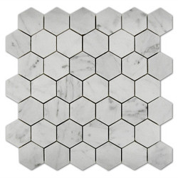 Bianco-Carrara-Mosaic-Hexagon-2x2