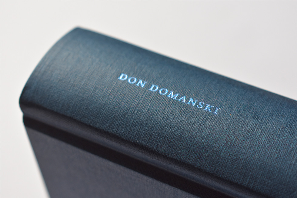 Don Domanski Selected Poems