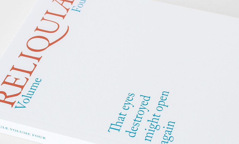 Reliquiae Volume Four (Various Authors)