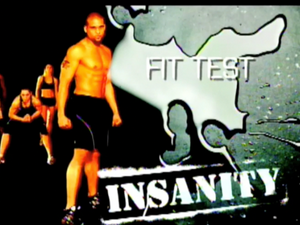 Insanity Fitness Test