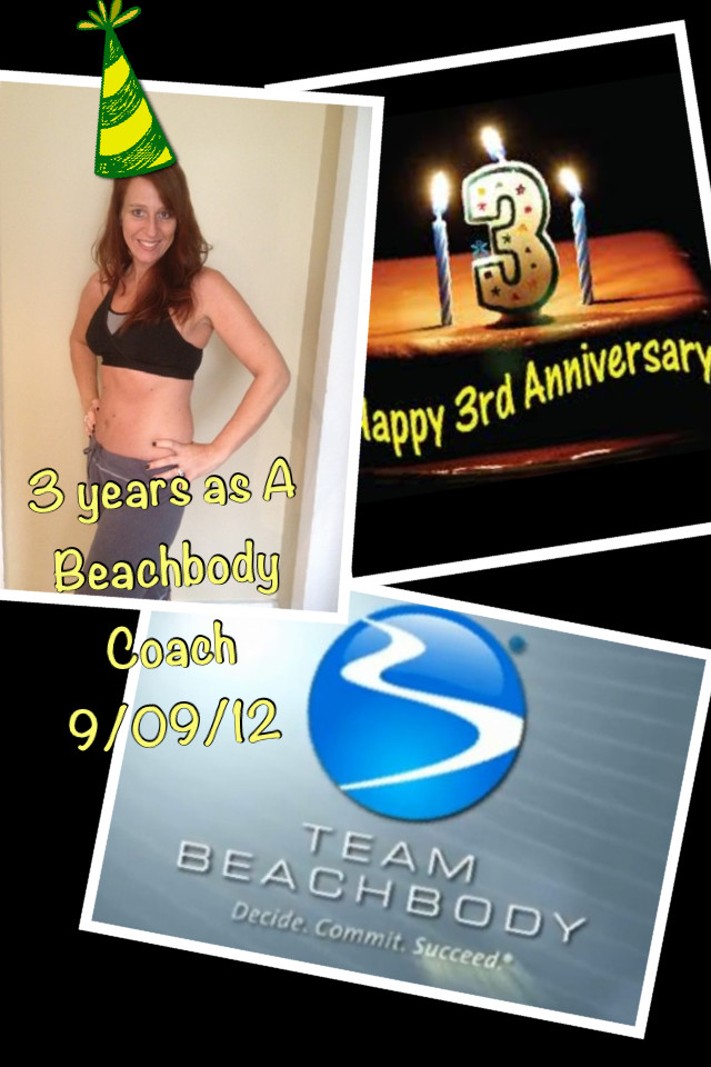 Hillary's 3rd Anniversary with Beachbody