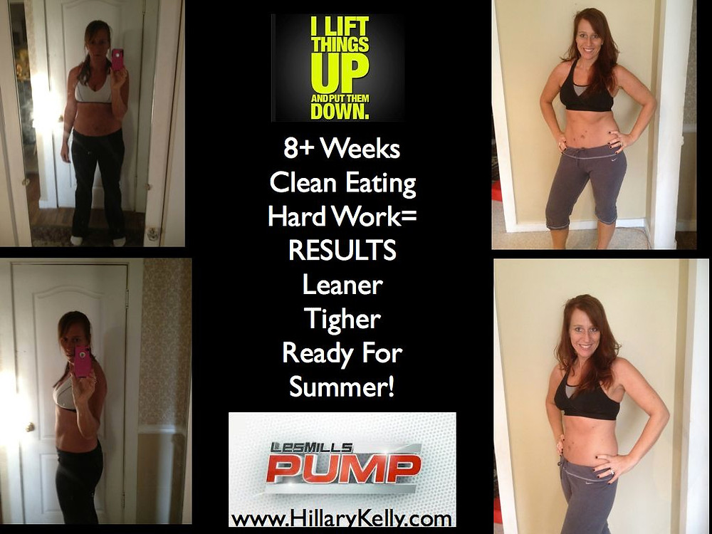 Les Mills Pump Results-- Beachbody Workout