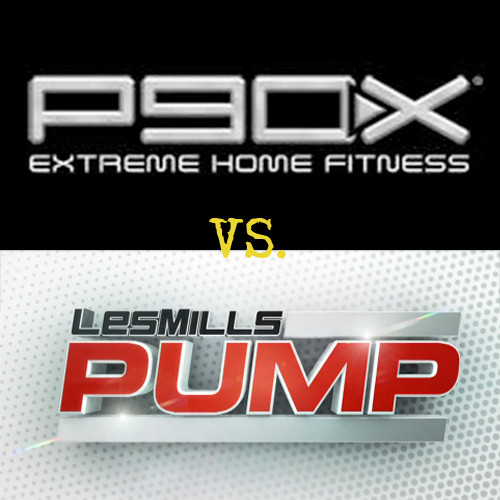 P90X vs. Les Mills Pump