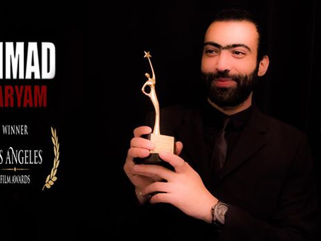 Ahmad Maryam Film win an Honorable Mention: Indie Feature