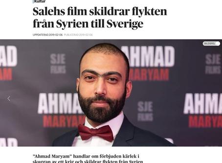 Salehs film skildrar flykten från Syrien till Sverige