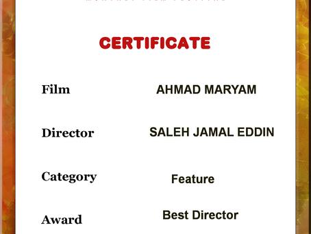 Ahmad Maryam film, best director, Moscow