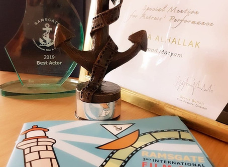Ahmad Maryam once again has been awarded at a festival. This time at Ramsgate, Great Britain.