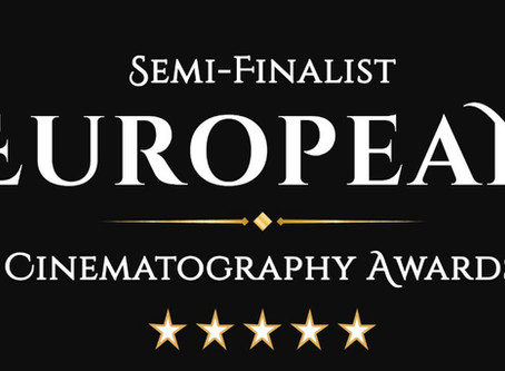 Ahmad Maryam in the semi finals for European cinematography awards