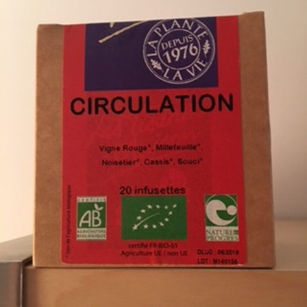 Tisane circulation Infusettes
