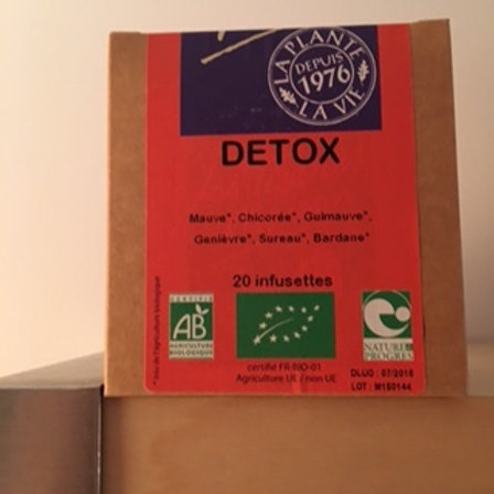 Tisane detox Infusettes
