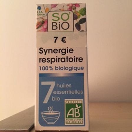 complexe d'huiles essentielles respiratoire
