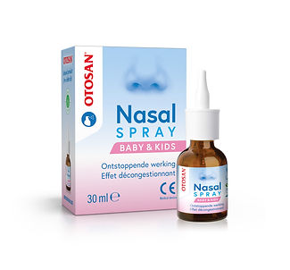 3D Otosan Nasal Spray Baby & Kids box +