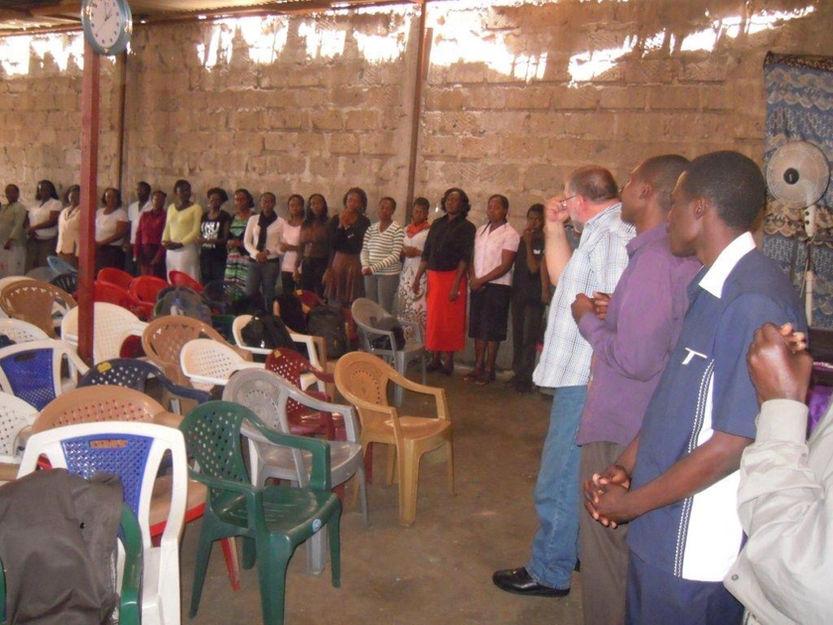 Genesis Design Pledge Ceremony Mathare