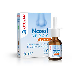 3D Otosan Nasal Spray Forte box + bottle