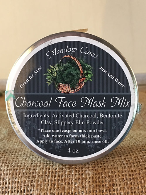 Charcoal Face Mask (4 oz)