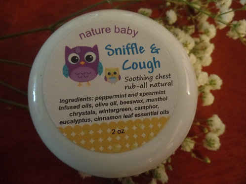 Nature Baby Sniffle and Cough Chest Rub (2 oz)