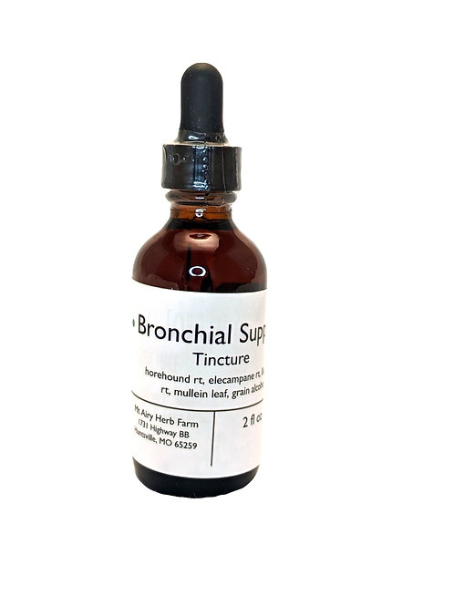 Bronchial Formula Tincture (2oz) - Lungs and Breathing