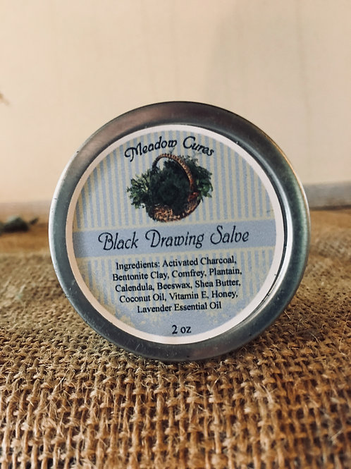 Black Drawing Salve (2 oz)