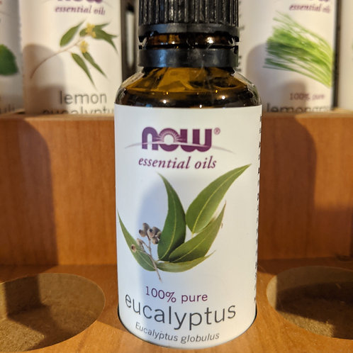 Now Essential oil: Eucalyptus (1oz)