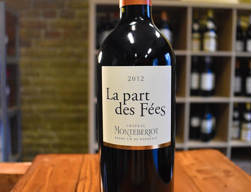 La Part des Fées 2012, AOP Côtes de Bourg - Château de Montébériot