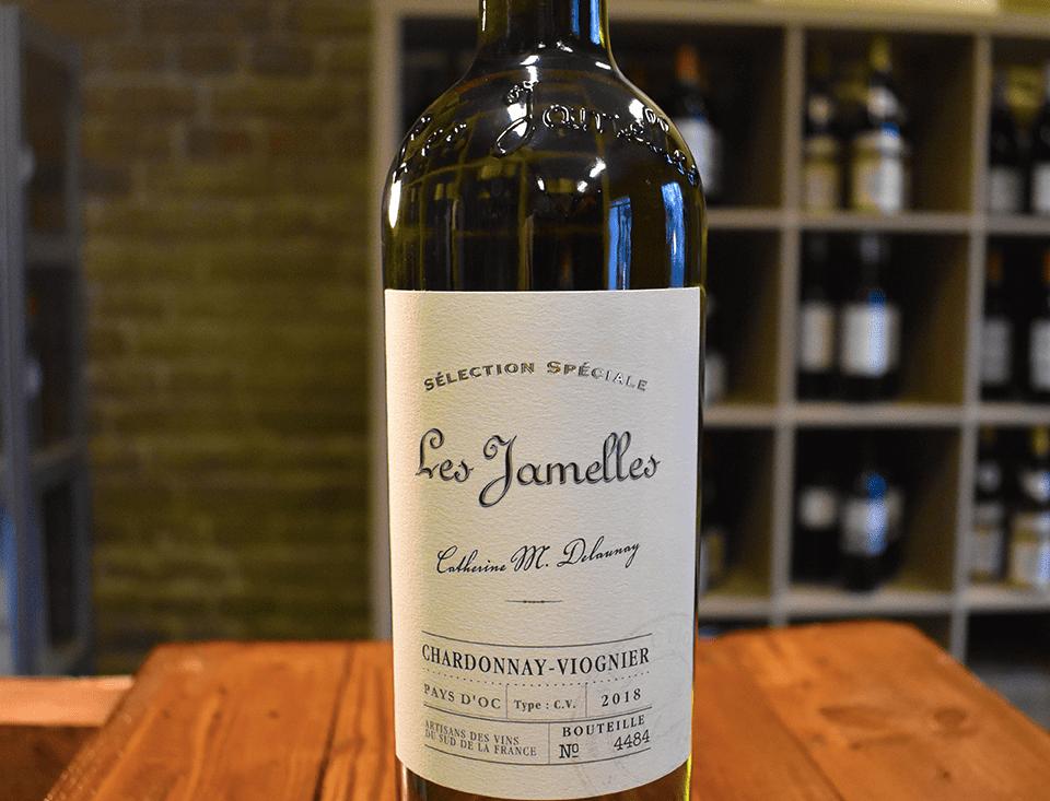 Chardonnay-Viognier Selection Spéciale 2018, Pays d'Oc - Les Jamelles