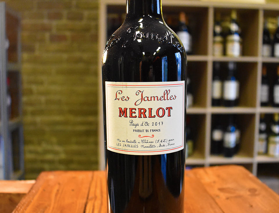 Merlot 2017, Pays d'OC - Les Jamelles