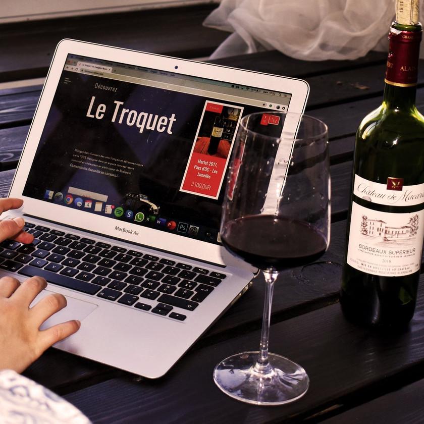 Commander son vin français en ligne