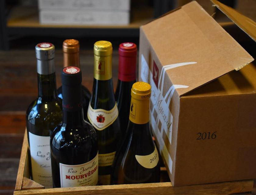 vin français à Budapest