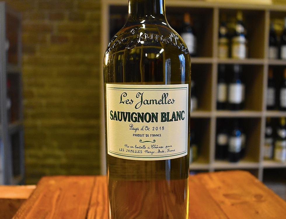 Sauvignon Blanc 2018, Pays d'Oc - Les Jamelles