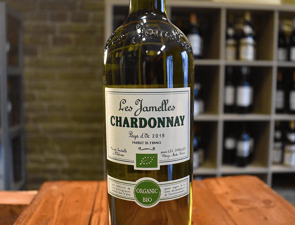 Chardonnay Organic 2018, Pays d'Oc - Les Jamelles