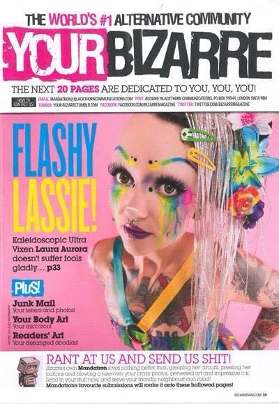 Bizarre magazine Oct 2014