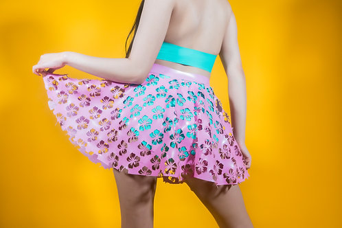 Tropical skater skirt *LIMITED EDITION*