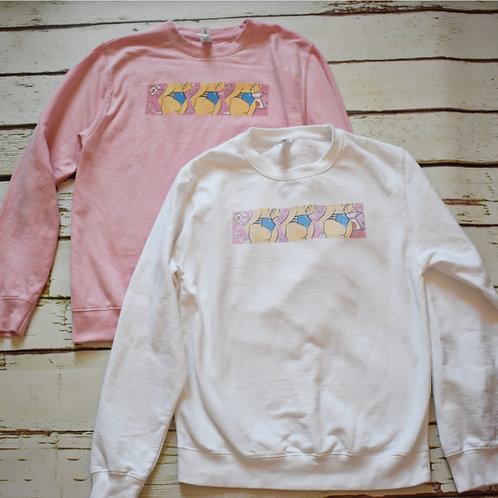 'Peachy' Unisex Sweatshirt
