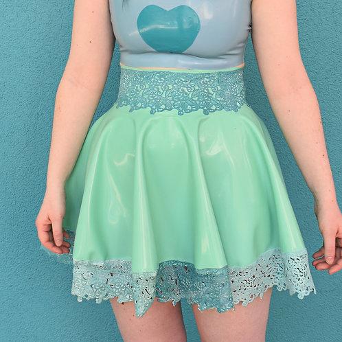 Double lace 'Dentelle' skirt
