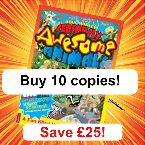 Seriously Awesome Animals Book - 10 copies